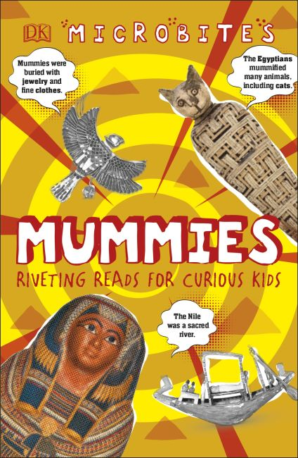 Hardback cover of Microbites: Mummies
