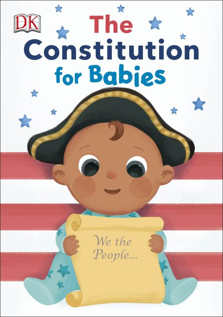 Board book cover of The Constitution for Babies