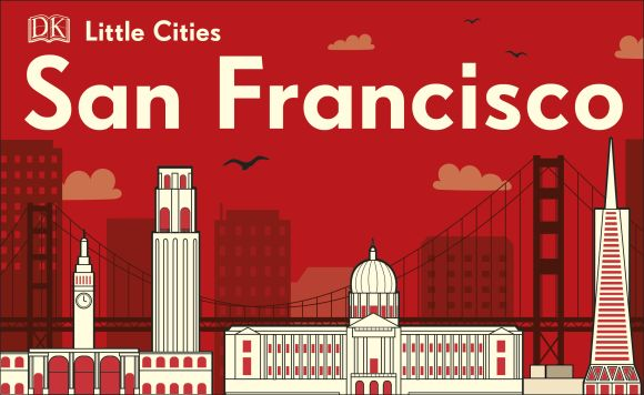 Board book cover of Little Cities: San Francisco