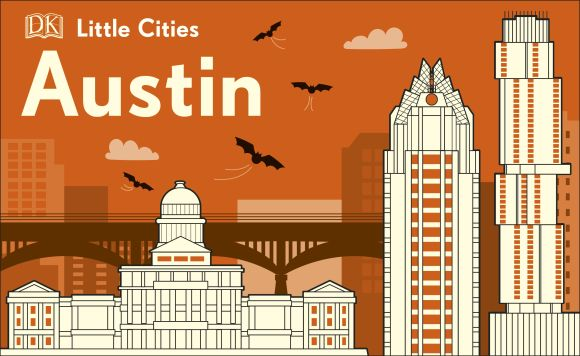 Board book cover of Little Cities: Austin