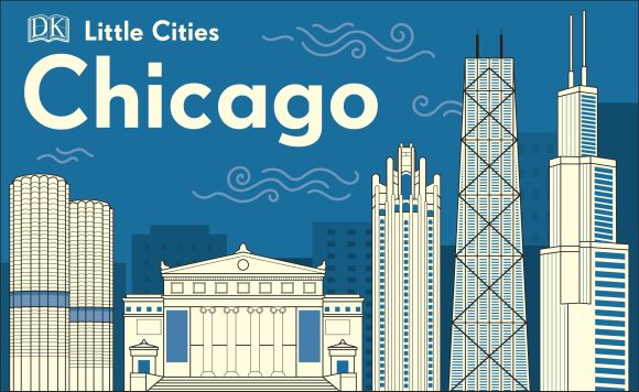 Board book cover of Little Cities: Chicago