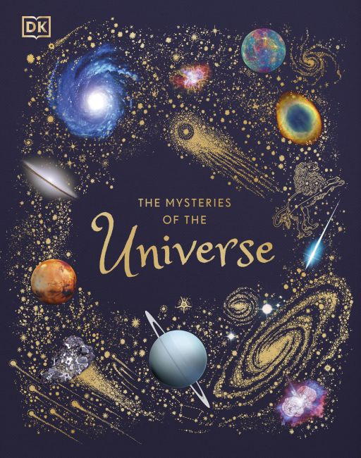 Hardback cover of The Mysteries of the Universe