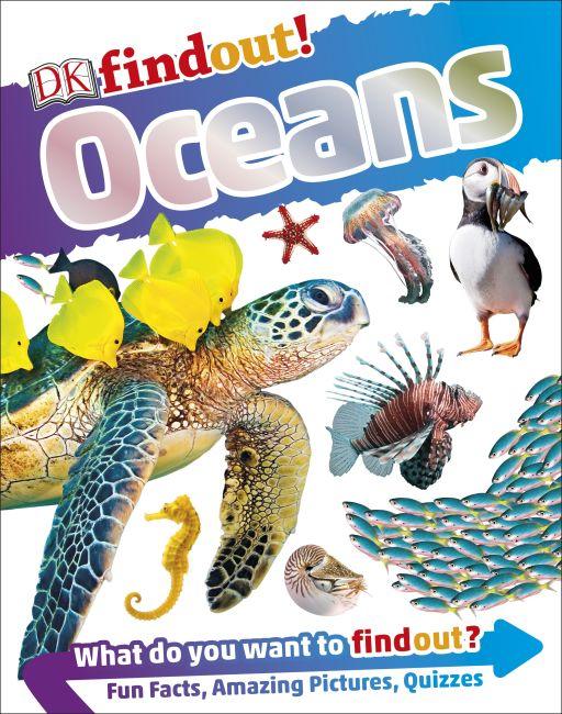 Hardback cover of DKfindout! Oceans