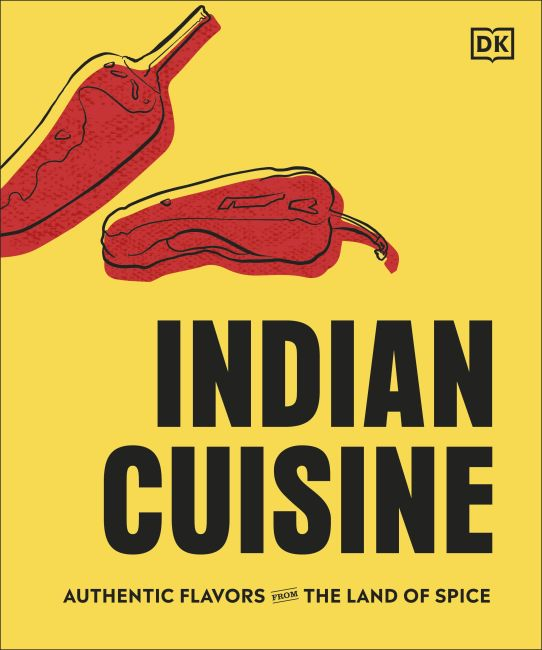 Hardback cover of Indian Cuisine