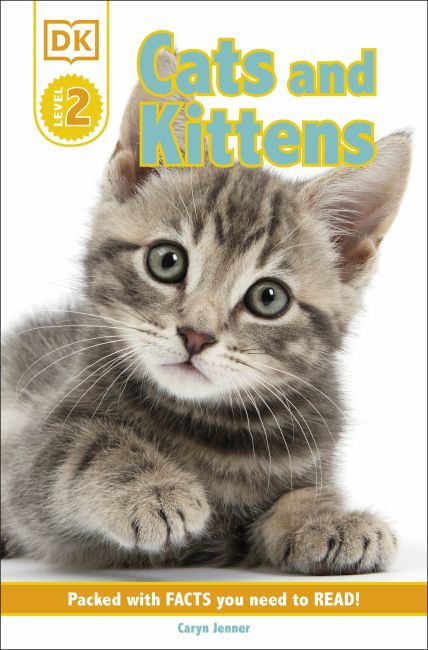 Paperback cover of DK Reader Level 2: Cats and Kittens