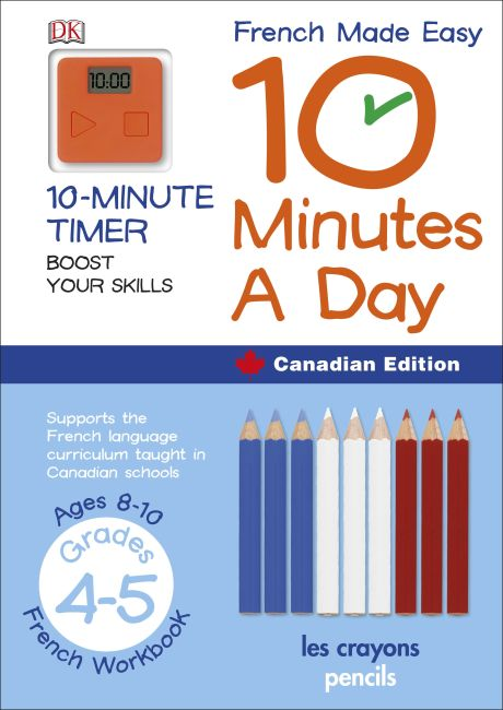 Paperback cover of French Made Easy 10 Minutes a Day