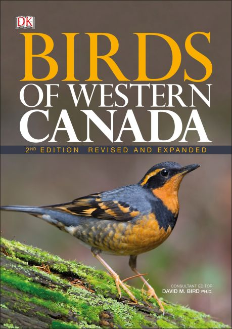 Flexibound cover of Birds of Western Canada 2nd Edition