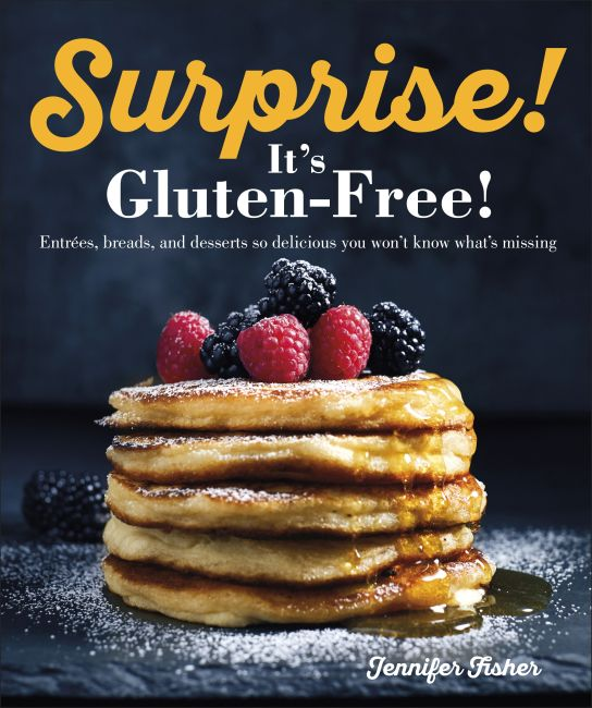 Paperback cover of Surprise! It's Gluten Free!
