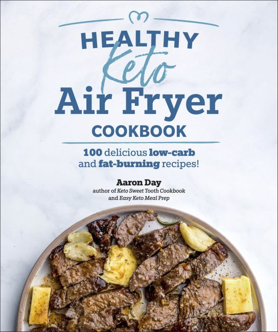 Paperback cover of Healthy Keto Air Fryer Cookbook