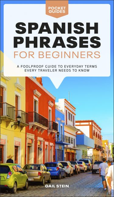 Paperback cover of Spanish Phrases for Beginners