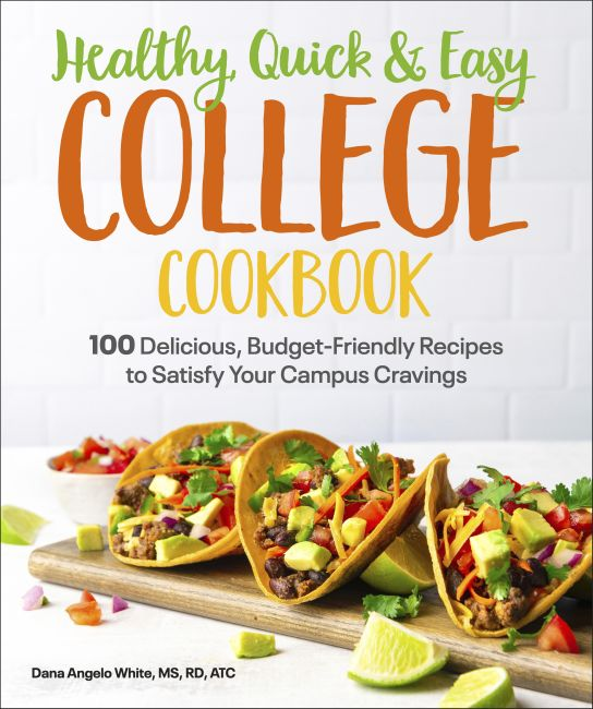 Paperback cover of Healthy, Quick & Easy College Cookbook