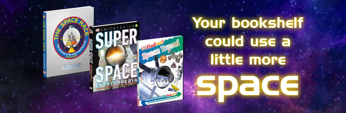 Blast off on a summer of space reading!