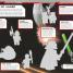 Thumbnail image of LEGO® Star Wars™ Mighty Minifigures Ultimate Sticker Collection - 1