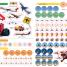 Thumbnail image of Planes and Other Flying Machines Ultimate Sticker Book - 4
