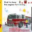 Thumbnail image of Noisy Fire Engine Peekaboo! - 2