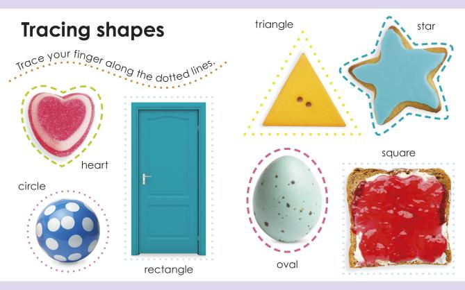 My First Shapes - spread
