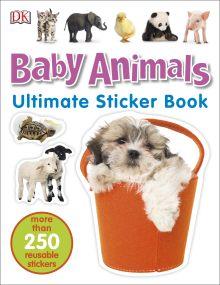 Ultimate Sticker Book: Baby Animals