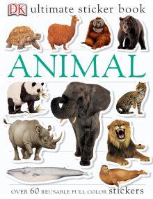 Ultimate Sticker Book: Animal