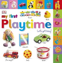 Tabbed Board Books: My First Playtime