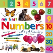 Tabbed Board Books: My First Numbers