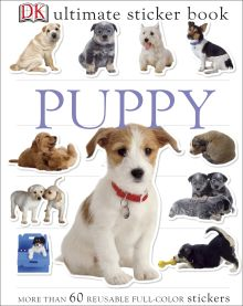 Ultimate Sticker Book: Puppy