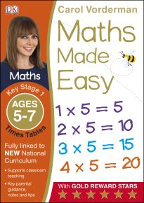 Maths Made Easy Times Tables Ages 5-7 Key Stage 1