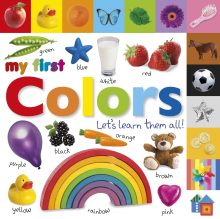 Tabbed Board Books: My First Colors