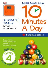 Math Made Easy 10 Minutes A Day Grade 4