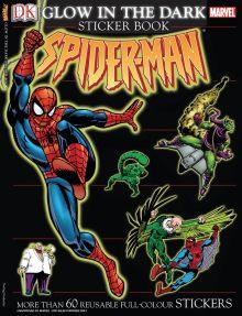 Ultimate Sticker Book: Glow in the Dark: Spider-Man