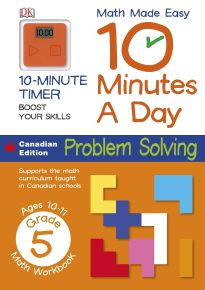 Math Made Easy 10 Minutes a Day Problem Solving Grade 5