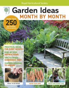 RHS Garden Ideas Month by Month Bookazine