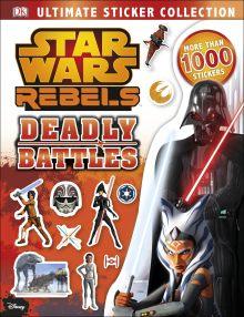 Star Wars Rebels Ultimate Sticker Collection Deadly Battles