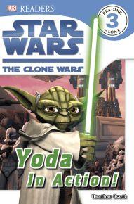 Star Wars Clone Wars Yoda in Action!