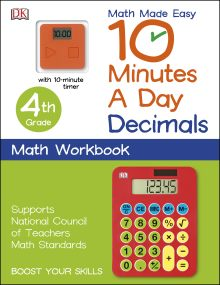 10 Minutes a Day: Decimals, Fourth Grade