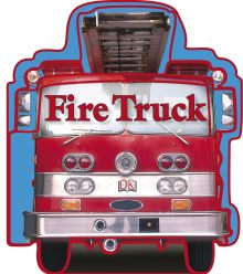 SHAPED BOARD BOOKS: Fire Trucks
