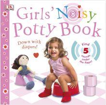 Girls' Noisy Potty Book