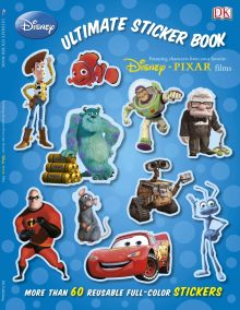 Ultimate Sticker Book: Disney Pixar