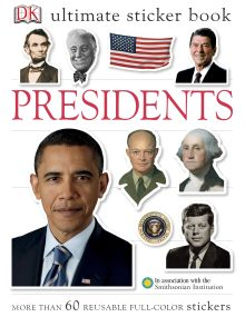 Ultimate Sticker Book: Presidents
