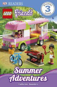 DK Readers L3: LEGO® Friends: Summer Adventures