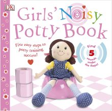 Girls' Noisy Potty Book