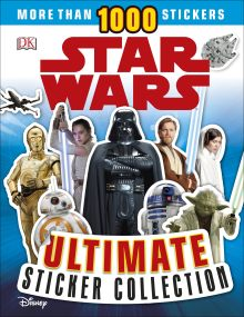 Star Wars Ultimate Sticker Collection New Edition