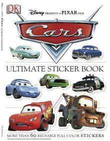 Ultimate Sticker Book: Cars
