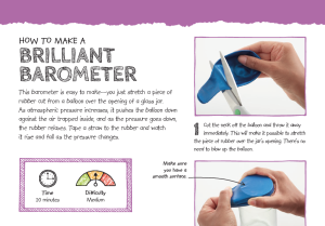 Brilliant Barometer PDF worksheet