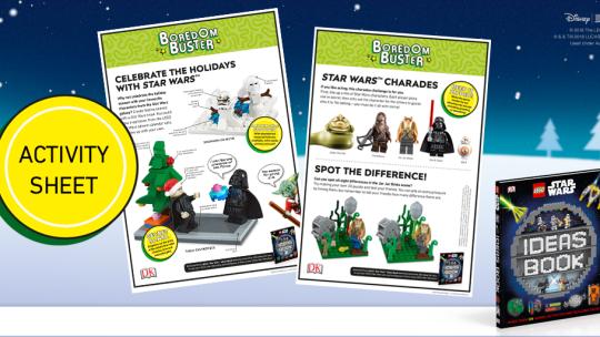 Activity Sheet Downloads: LEGO® Star Wars™ Ideas Book