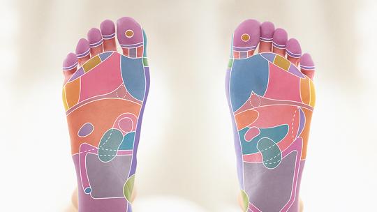 Reflexology Foot Maps to Maximise Your Massage