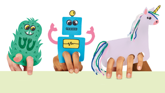 Robot and Unicorn Puppet Templates: Fun-Filled Craft for Kids