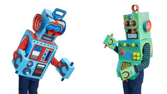 How to Make Box Robots: Kids' Cardboard Box Craft Project