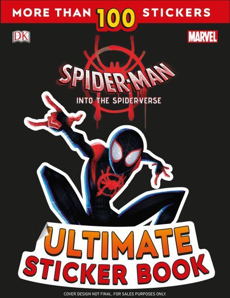 Marvel Spider-Man Into the Spider-Verse Ultimate Sticker Book