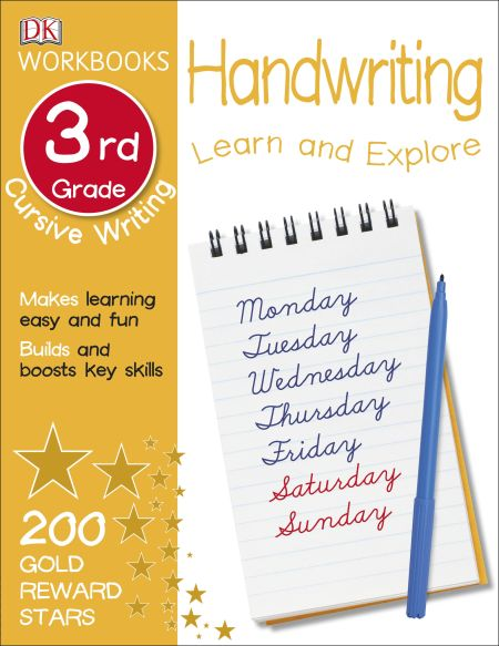 DK Workbooks: Handwriting: Cursive, Third Grade