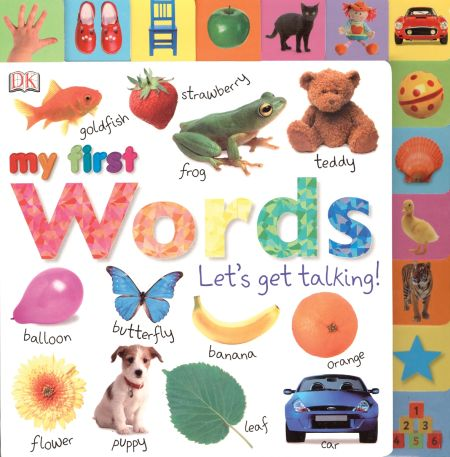 Tabbed Board Books: My First Words